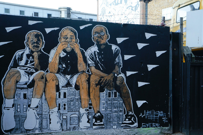 London street art Nether