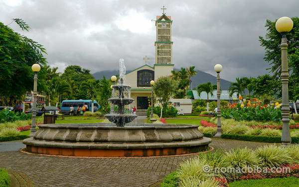 Church in La Fortuna, Costa Rica