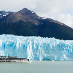 Boat ride to Perito Moreno glacier in Argentina