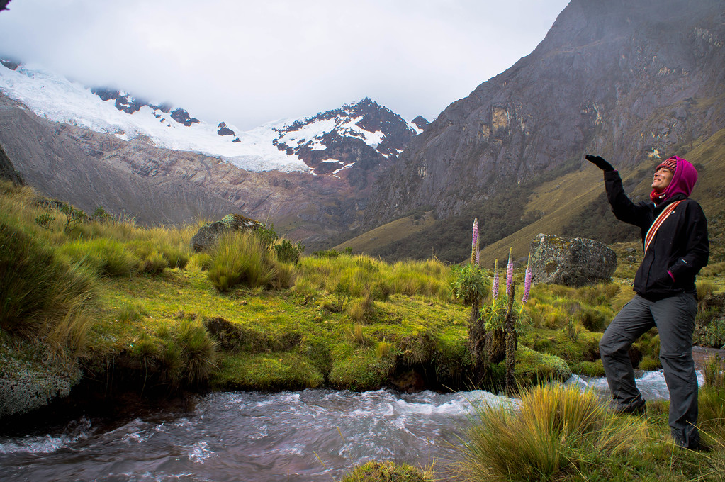 Hiking the Santa Cruz trek in Huaraz, Peru