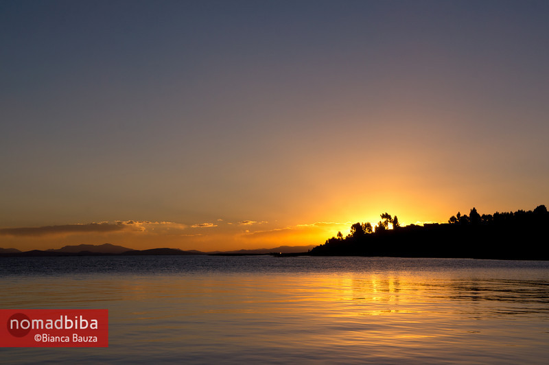 Lake Titicaca: Sunset in Capachica