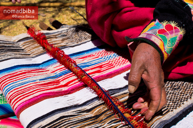 Lake Titicaca: Weaving in Capachica