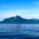 Anvil Island, third largest island in Howe Sound BC (Canada)