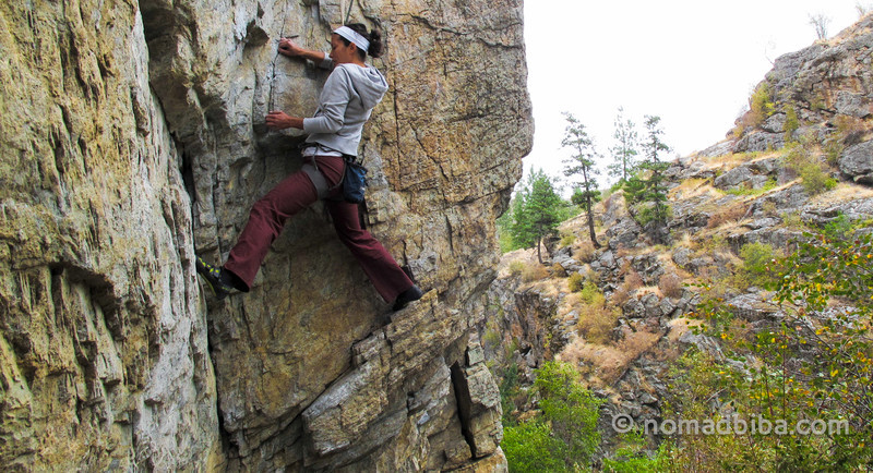 Rock Climbing in Skaha