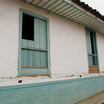 A typical house in Salento (Quindio), Colombia