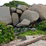 Boulders in Tayrona National Park (Colombia)