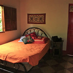 Our room at the house