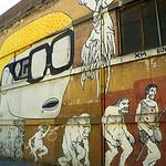 Detail of mural by Blu