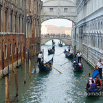 Gondolas and the Bridge of Sighs