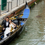 Newlyweds in Venice