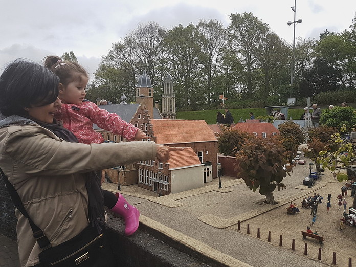 Visiting Madurodam in Den Haag, the Netherlands