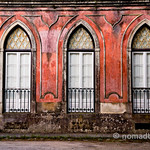 Beautiful architecture in Sintra, Portugal