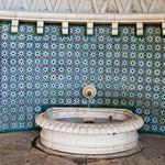 Moorish fountain in Sintra, Portugal