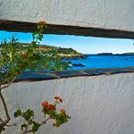 Window at Casa Museu Salvador Dalí in Port Lligat, Spain