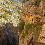 Peter Parkorr does the Caminito del Rey in Spain