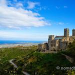 Monastery Sant Pere de Rodes in Costa Brava, Spain