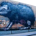 London street art by ROA