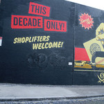 Mural by Shepard Fairey in London, UK