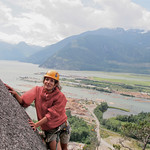 How much longer? For the story, check out my post: Rock Climbing in Squamish BC, Canada