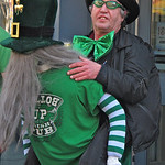 Hands down the best costume in town! For the story, check out my post: Saint Patrick's Parade in Montreal