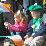 Waiting for the parade to start For the story, check out my post: Saint Patrick's Parade in Montreal