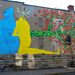Street art near Mont Royal St. in Montreal QC (Canada) For the story check out my post:  Montréal – Street Art