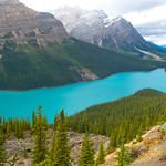 Peyto Lake in Alberta