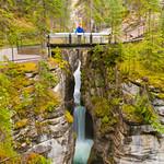 Chasing waterfalls in Jasper National Park, AB (Canada)