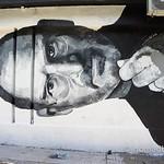 Steve Jobs mural by Mario Calvo