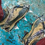 Crampons for trekking in Perito Moreno glacier, Argentina