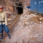 Visiting the mines in Potosí, Bolivia