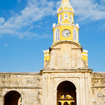 Clock Tower in Cartagena, Colombia