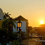 Sunrise over Cartagena (Colombia)