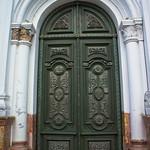 Doorway in Cuenca, Ecuador
