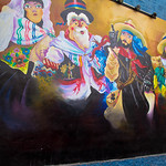 Mural in Lima by Percy Gomez