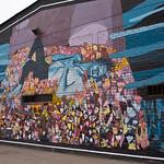 Street art in Lima by Triangulo Dorado