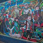 Mural in Lima, Perú by Decertor