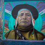 Street art in Lima by Decertor